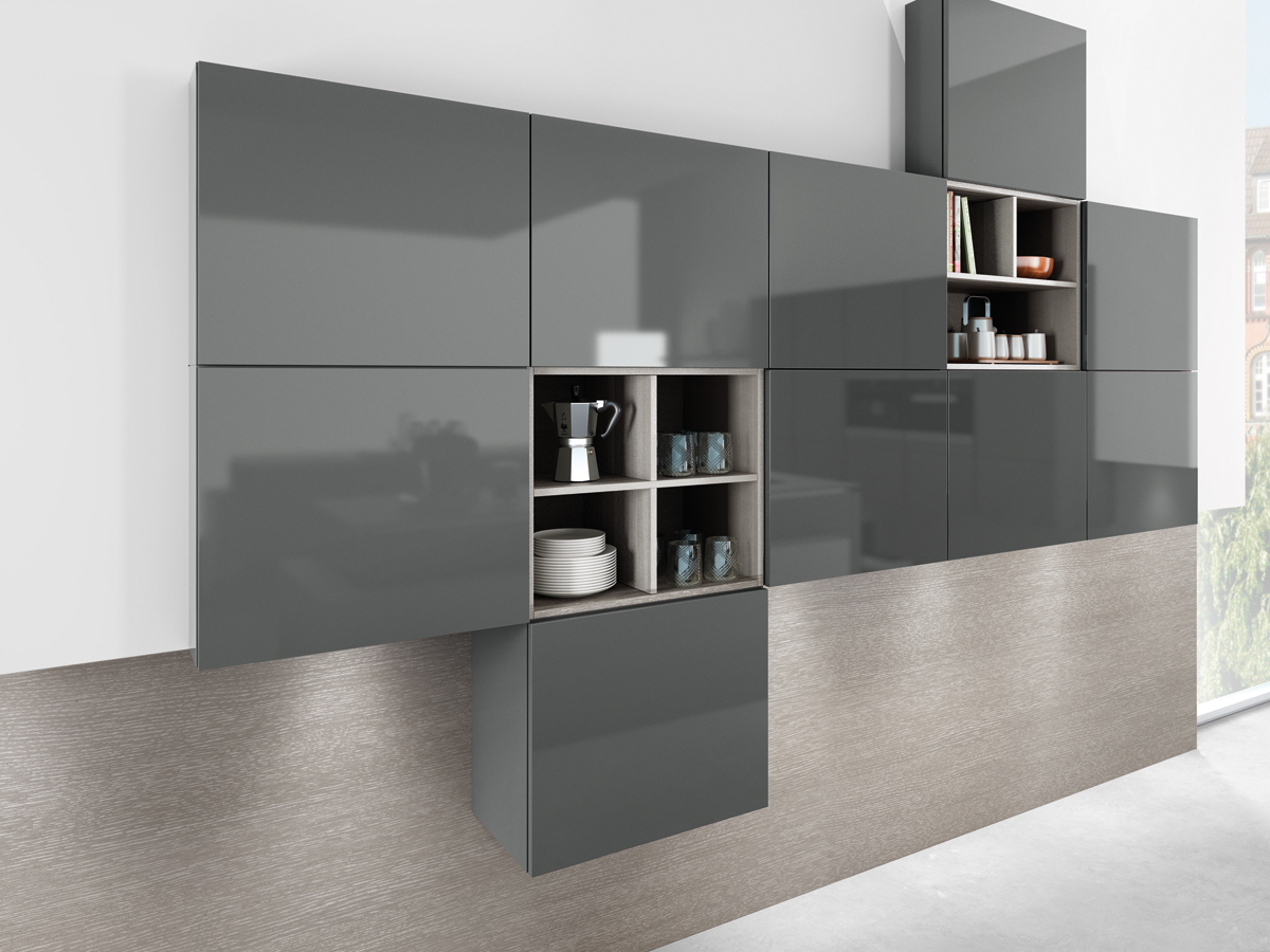 Small Kitchen With White Cabinets Urban Myth More Than A Kitchen Design Glass Lava Grey